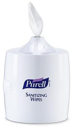 PURELL 9019-01 White Sanitizing Wipes Large Wall Dispenser