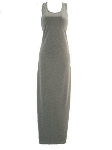 Lush Clothing donna muscolo-Maglione, dorso a vogatore, Maxi-Giubbotto lungo abito, colore: grigio grigio 40