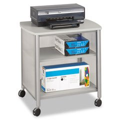 New - Impromptu Under Table Printer Stand, 20w x 16-1/2d x 14-1/2h, Gray/Gray by Safco kitcox01761easaf3274bl value kit safco one drawer hospitality organizer saf3274bl and clorox disinfecting wipes cox01761ea