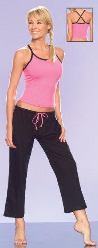Jersey Yoga Capri Pant