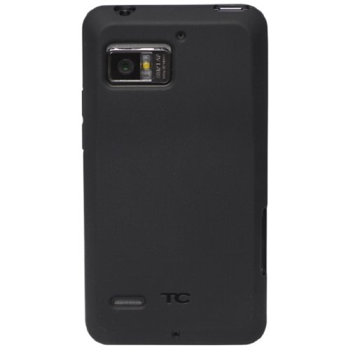 Diztronic Matte Back Black Flexible TPU Case for Motorola Droid Bionic 4G (Verizon) [Diztronic Retail Packaging]