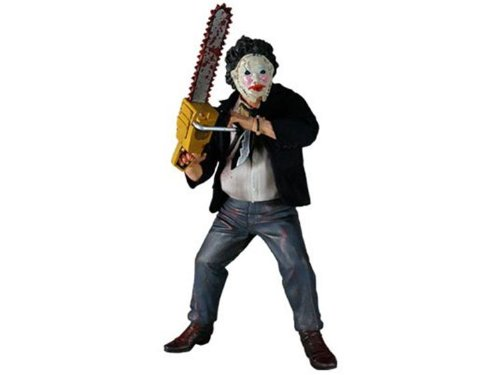 Mezco Toyz Cinema of Fear Exclusive Texas Chainsaw Massacre 12 Inch Action Figure Leatherface Suit Variant