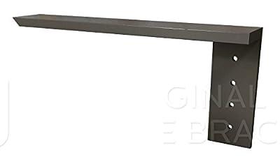 "Countertop Support Bracket Side Wall Bracket 8"" Left Angle by Wholesale Hidden Granite Brackets"