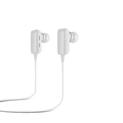 Dbpower(Us Seller) Sport Wireless Bluetooth Stereo Earbuds/Headphones With Microphone White
