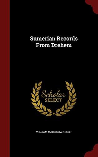 Sumerian Records From Drehem