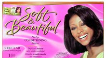 SOFT & BEAUTIFUL No Lye Conditioning Relaxer