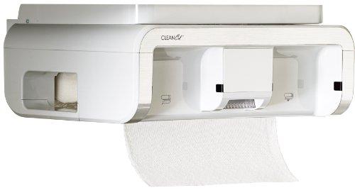 Clean Cut Touchless Paper Towel Dispenser, White
