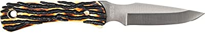 Uncle Henry UHCOM2CP 2 pc. Elk Hunter Drop Point & Caping Full Tang Fixed Blade Knife Combo