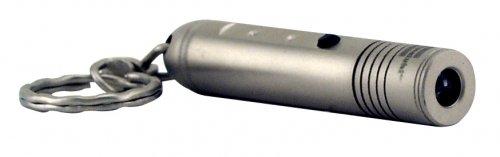 Greatlite 32750 Brass Bullet Led Keychain Light, Silver