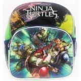 Mini Backpack - Teenage Mutant Ninja Turtles -TMNT Movie Green City 639884 - 1