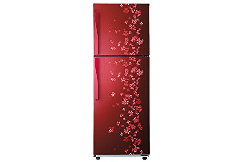 Samsung RT27HAJSARY Frost-free Double-door Refrigerator (253 Ltrs, Sanganeri Ring Red)