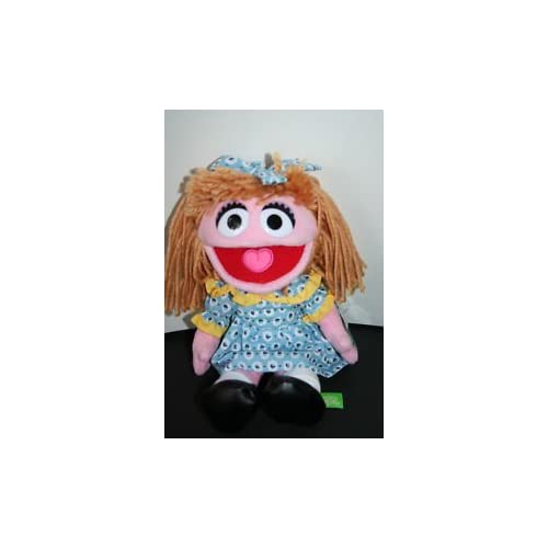 Sesame Street PRAIRIE DAWN Large Plush Doll (16) Toys