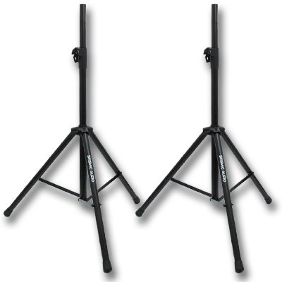 SEISMIC AUDIO - Pair of PA/DJ Tripod Speaker Stands from Seismic Audio