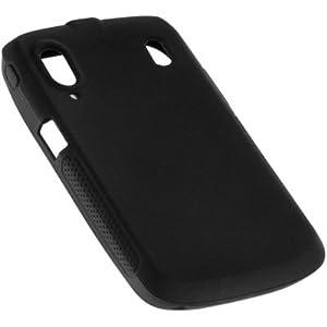 YAYAGO Silicon Black Case Tasche für Ihr ZTE Skate / Base Lutea2 inkl. dem Original YAYAGO Clean-Pad