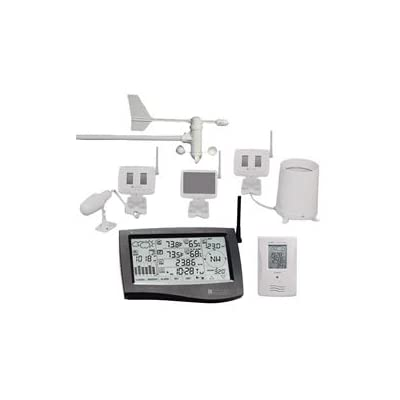 Oregon Scientific PC Link Professional Weather Station with 4 Sensors/Gauges & Touch Screen WMR928NX