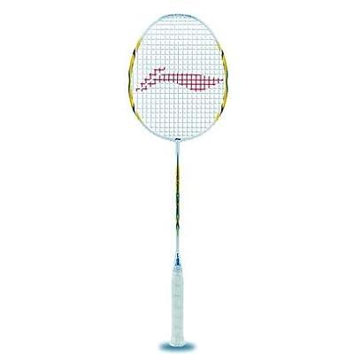 Li-Ning Lite 3600 G-Force Carbon Fiber Badminton Racquet, Size S2 (Gold)