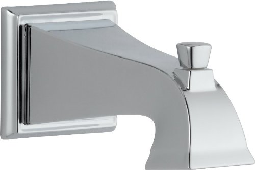 Delta RP52148 Dryden Tub Spout - Pull-Up Diverter, Chrome (Delta Innovations Tub Spout compare prices)