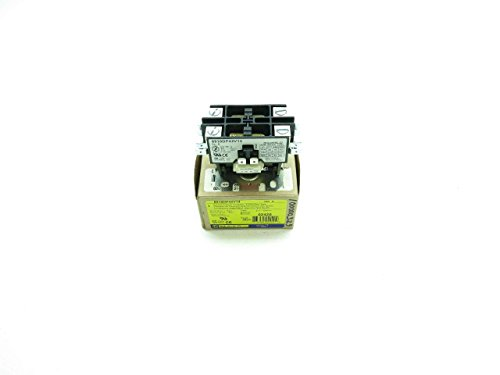 NEW SQUARE D 8910DP42V14 2 POLE-OPEN TYPE 24V-AC 40A AMP AC CONTACTOR D510042 2 Pole Contactor Type