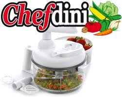 Chef Dini Deluxe Edition Chop, Blend, Whip, and Mix