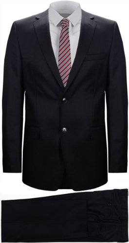 Versace Collection Men's Black Wool Suit (UK 46 / EU 56)
