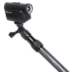 Midland Consumer Radio Xta231 31.5-Inch Telescoping Carbon Fiber Monopod Mount For Cameras With Gopro Adapter