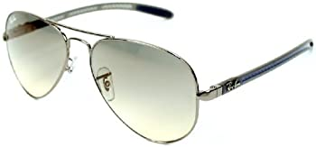 Ray-Ban RB8307 Aviator Light Grey Gradient Sunglasses
