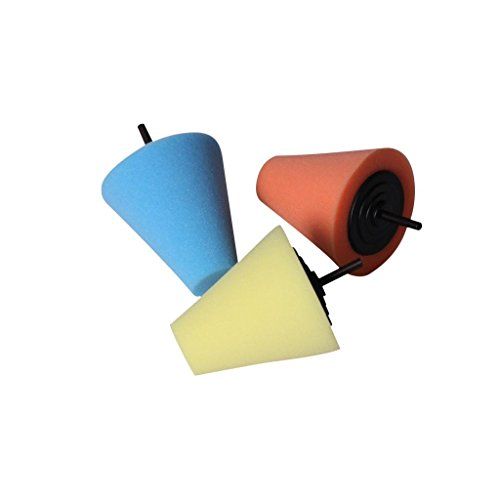 Generic Professional Sponge Cone Power-Polishing-Toolsing Pad Set
