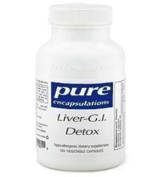 Pure Encapsulations Liver GI Detox - 60 capsules
