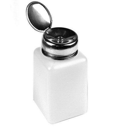WAWO 200ml Nail Polish Remover Alcohol Liquid Press Pumping Dispenser Empty Bottle (Acetone Polish Remover Pump compare prices)
