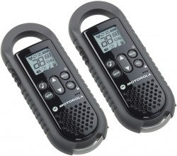 Motorola TLKR T5 Two Way Radio Twin Pack - Black