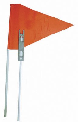 "Safety Flags - One-piece 72"", Box of 25 from Safety Vehicle"
