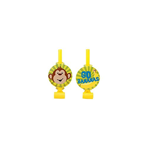 Monkey Around Party Blowers (8-pack)