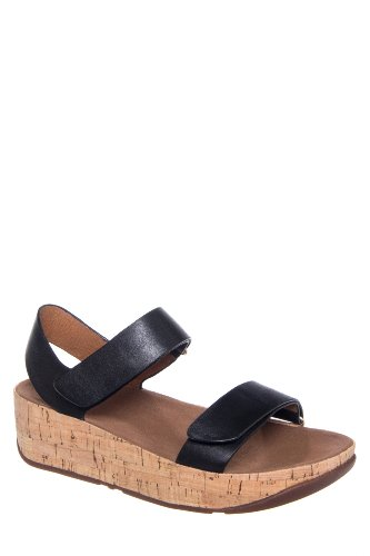 Bon Easy Low Wedge Strap Sandal
