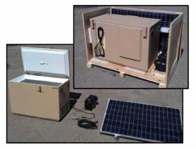 SunDanzer DCR225NAV Solar Refrigerator Kit