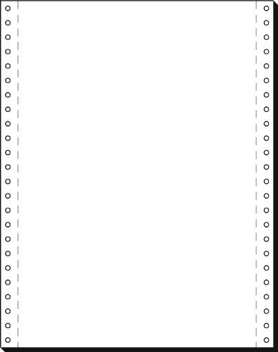 Papier quadrillé 12x240mm A4 60g/mÄ  avec perforation VE=2000 feuilles Sigel 12249