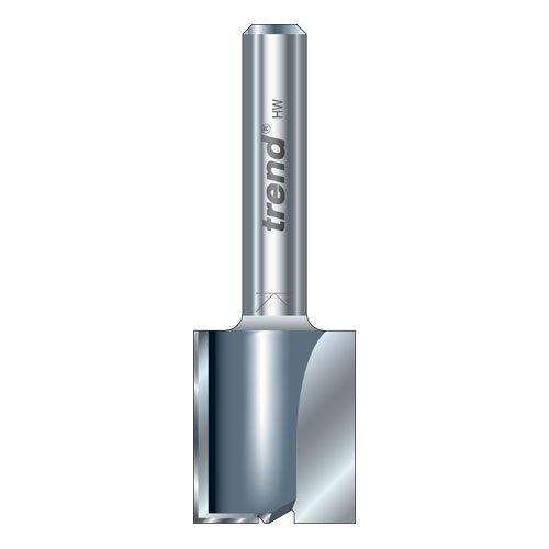 Bosch 2609256626 Fraise /à rainurer droit /à deux tranchants Carbure de tungst/ène Diam/ètre 9,5 mm Profondeur de coupe 1//4 19,5 mm Queue