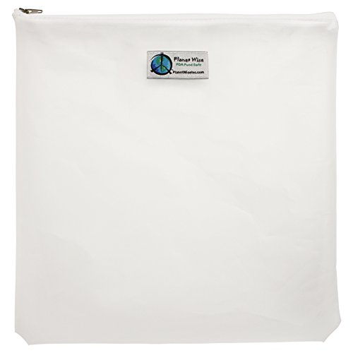 Planet Wise Reusable Clear Zipper Gallon Bag