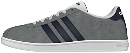 adidas Uomo Vlcourt scarpe sportive grigio Size: 40