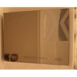 GOWE-1080P-32-pouces-Android-Smart-TV-LED-de-salle-de-bain-tanche-TV-TV-Panneau-de-miroir-Couleur-Blanc