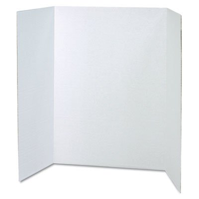 Pac37634 pacon spotlight corrugated presentation display for Office display board