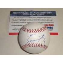 Engel Beltre Texas Rangers PSA DNA Signed Autographed ROOKIE Baseball