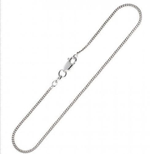 Bling Jewelry Sterling Silver Mens Cuban Chain Necklace 40 Gauge
