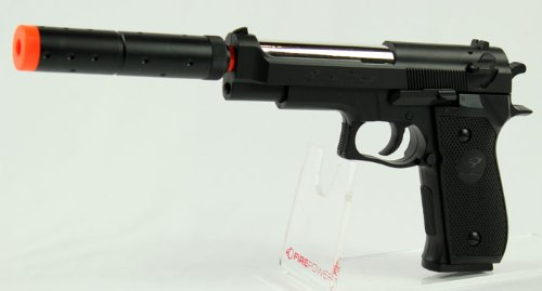 Double Eagle Spring M22 Silenced Pistol FPS-300 