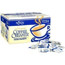 Njoy Non Dairy Creamer - 2G Packet, 1000 Packets Per Case