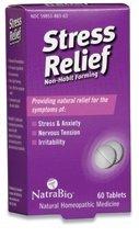 Natrabio Stress Relief Tablets, 60 Count