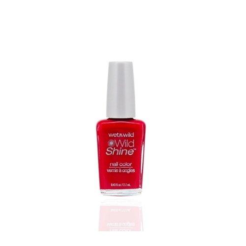 ウェットアンドワイルド Wild Shine Nail Color Red Red