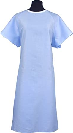 VELCRO® Solid Color Hospital Gown