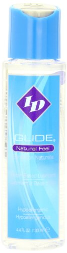 Id Lubes Id Glide Natural Feel Water Based Lubricant, 4.4 Fluid Ounce