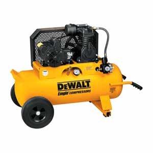 DEWALT D55585 20 Amps/10 Amps 2 Horsepower 17-Gallon Electic Wheeled Portable Compressor