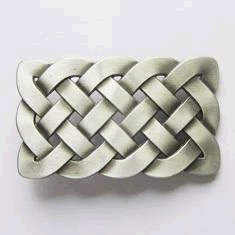 Irish Celtic Knot Belt Buckle